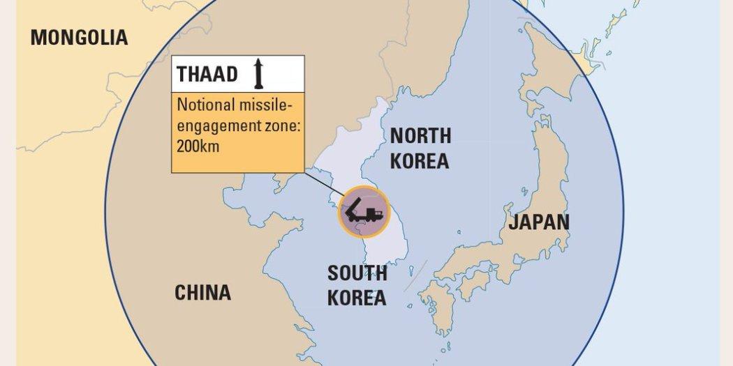 Ηχούν οι σειρήνες πολέμου στη Κίνα – Εγκαταστάθηκε το THAAD και απέπλευσε το USS Michigan – Σε θέσεις μάχης η αμερικανική αρμάδα – Προειδοποιεί πρέσβης των ΗΠΑ: «Μια πυραυλική επίθεση στην Β.Κορέα θα εξαφάνιζε τα πάντα από προσώπου γης» – Δείτε βίντεο - Εικόνα0