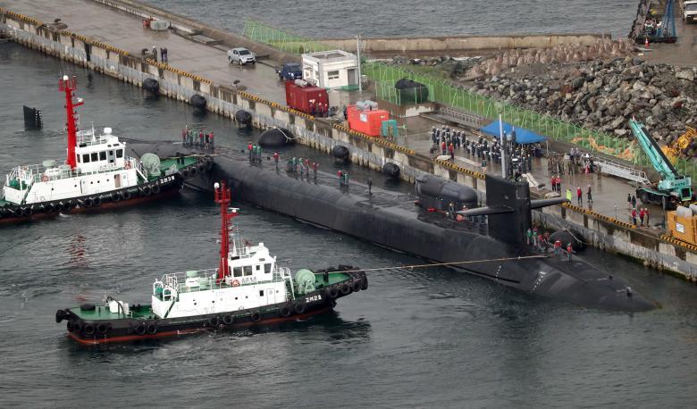 Ηχούν οι σειρήνες πολέμου στη Κίνα – Εγκαταστάθηκε το THAAD και απέπλευσε το USS Michigan – Σε θέσεις μάχης η αμερικανική αρμάδα – Προειδοποιεί πρέσβης των ΗΠΑ: «Μια πυραυλική επίθεση στην Β.Κορέα θα εξαφάνιζε τα πάντα από προσώπου γης» – Δείτε βίντεο - Εικόνα8