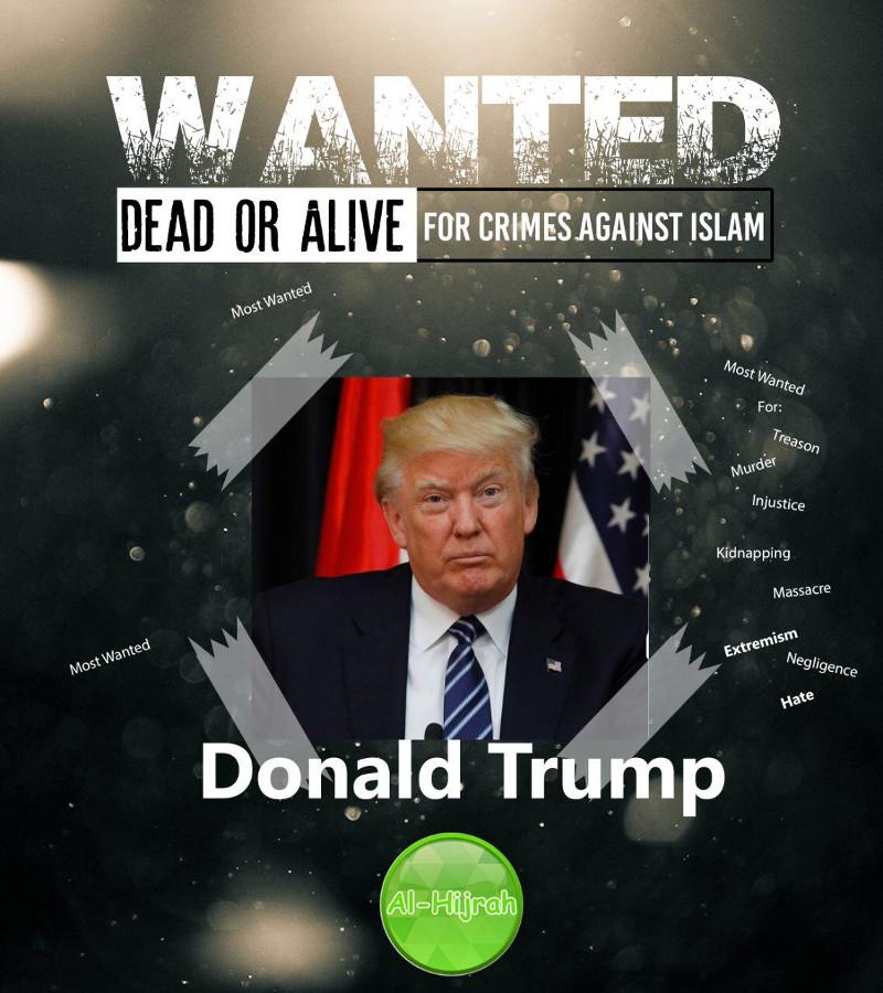 Η Αλ Κάιντα επικήρυξε τον Τραμπ: «Καταζητείται νεκρός ή ζωντανός»  [εικόνα] - Εικόνα