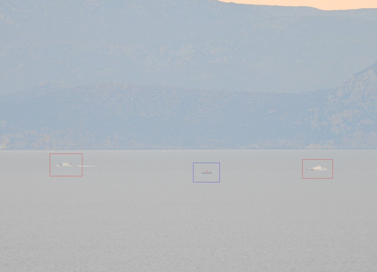 Καζάνι που »βράζει» το Αιγαίο: Ναυμαχίες ελληνικού, τουρκικού και αλβανικού πλοίου που αβαντάρει τους Τούρκους- Ένταση και στα Ίμια (βίντεο-φωτογραφίες) - Εικόνα1