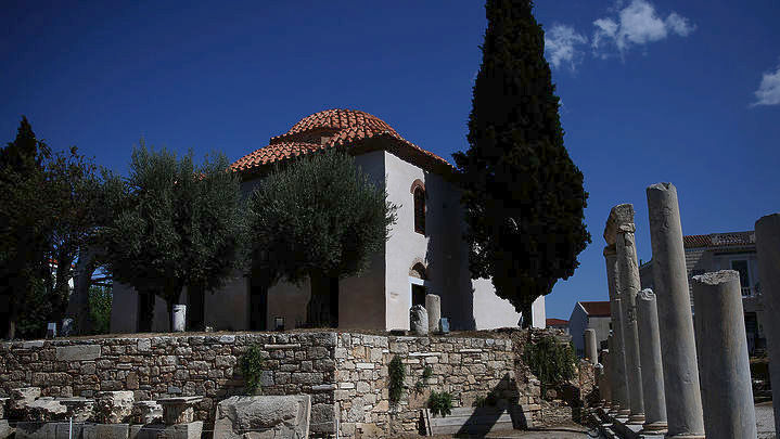 Η κυβέρνηση άνοιξε το «τζαμί του Πορθητή» στην Πλάκα – Συμβολίζει την οθωμανική κατάκτηση της Αθήνας [εικόνες] - Εικόνα1