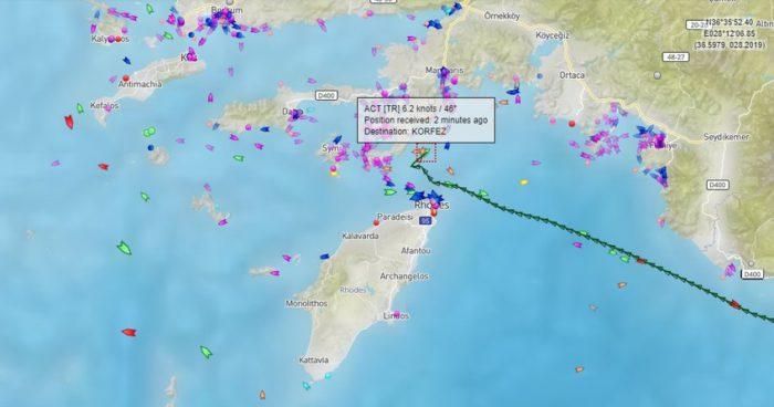 Κλιμάκωση της ελληνοτουρκικής κρίσης: Αποστέλλονται τουρκικά πολεμικά πλοία στην περιοχή του επεισοδίου – Επιβεβαιώνει το Αρχηγείο του Λ/Σ την καταδίωξη και τα πυρά - Εικόνα1