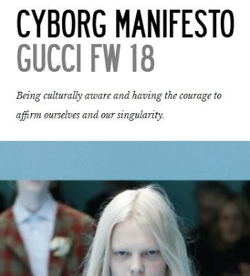 Τι κρύβεται πίσω από την αλλόκοτη cyborg «επίδειξη μόδας» του οίκου Gucci; - Εικόνα7