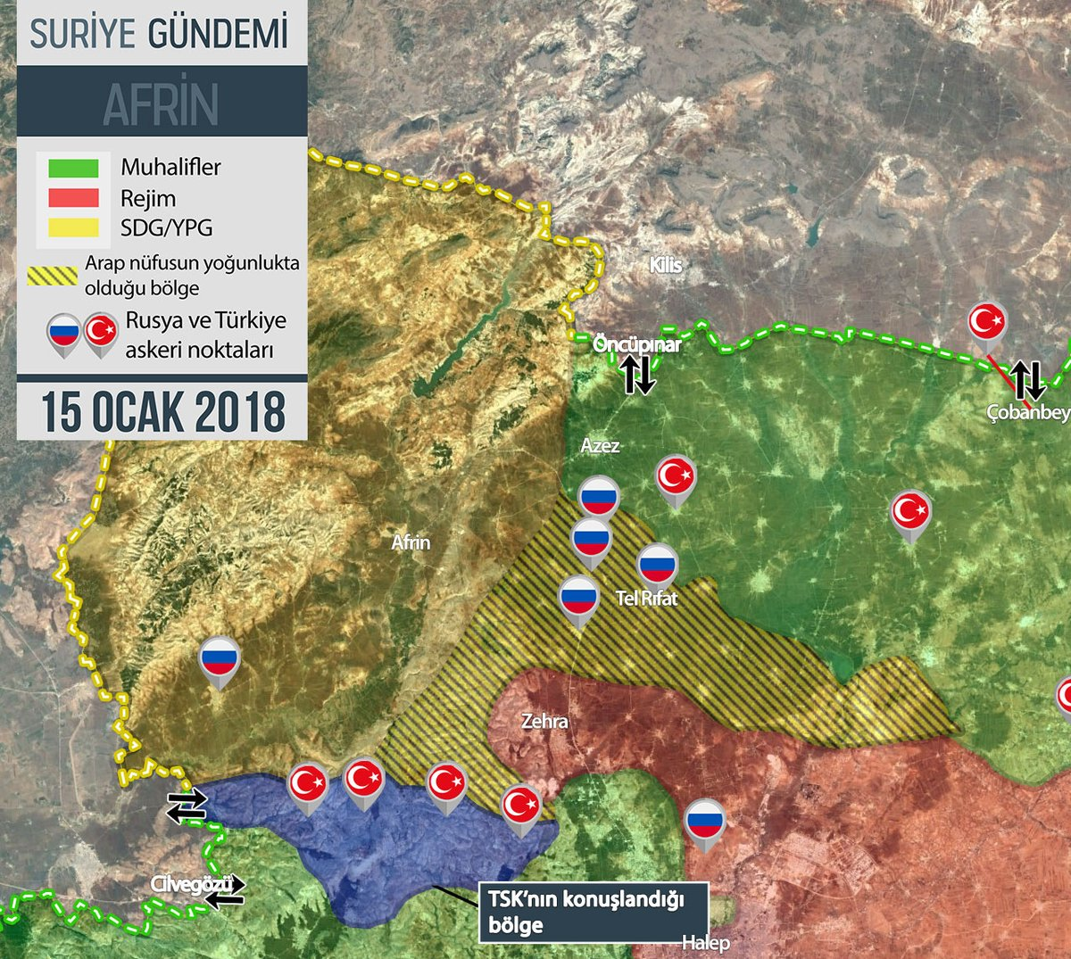 Κροταλίζουν τα αντιαεροπορικά των Κούρδων: Κατέρριψαν τουρκικό αεροσκάφος- 70 άρματα μάχης LEO-Sabra αγκιστρώθηκαν στα σύνορα με Αφρίν! - Εικόνα4