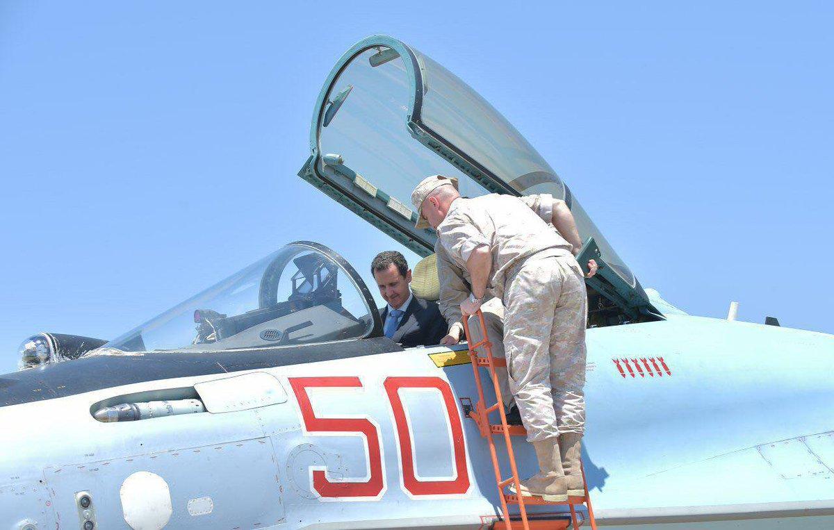 Ξεδιπλώνεται εφιαλτικό σενάριο στη Συρία: Οι ΗΠΑ ετοιμάζονται να κτυπήσουν με κρουζ και το Ισραήλ να εισβάλλει – Στην βάση Hmeymim, Μ.Ασαντ και Ρώσος Α/ΓΕΕΘΑ υποδέχτηκαν τον «Εξολοθρευτή» - Εικόνα1