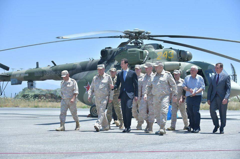 Ξεδιπλώνεται εφιαλτικό σενάριο στη Συρία: Οι ΗΠΑ ετοιμάζονται να κτυπήσουν με κρουζ και το Ισραήλ να εισβάλλει – Στην βάση Hmeymim, Μ.Ασαντ και Ρώσος Α/ΓΕΕΘΑ υποδέχτηκαν τον «Εξολοθρευτή» - Εικόνα17