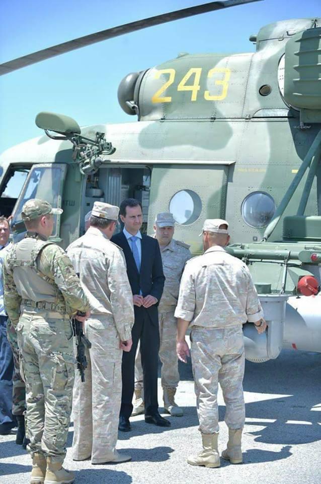 Ξεδιπλώνεται εφιαλτικό σενάριο στη Συρία: Οι ΗΠΑ ετοιμάζονται να κτυπήσουν με κρουζ και το Ισραήλ να εισβάλλει – Στην βάση Hmeymim, Μ.Ασαντ και Ρώσος Α/ΓΕΕΘΑ υποδέχτηκαν τον «Εξολοθρευτή» - Εικόνα18