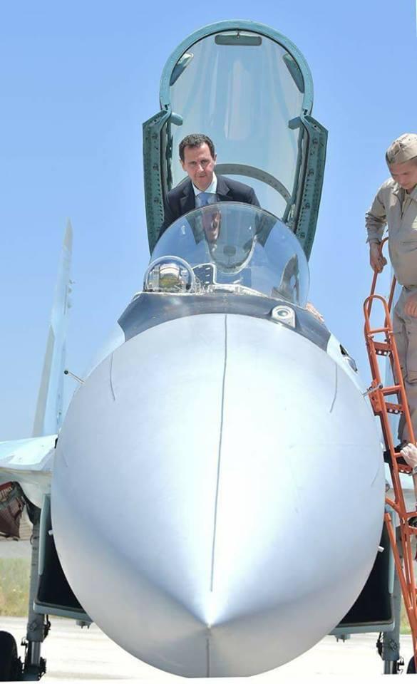 Ξεδιπλώνεται εφιαλτικό σενάριο στη Συρία: Οι ΗΠΑ ετοιμάζονται να κτυπήσουν με κρουζ και το Ισραήλ να εισβάλλει – Στην βάση Hmeymim, Μ.Ασαντ και Ρώσος Α/ΓΕΕΘΑ υποδέχτηκαν τον «Εξολοθρευτή» - Εικόνα2