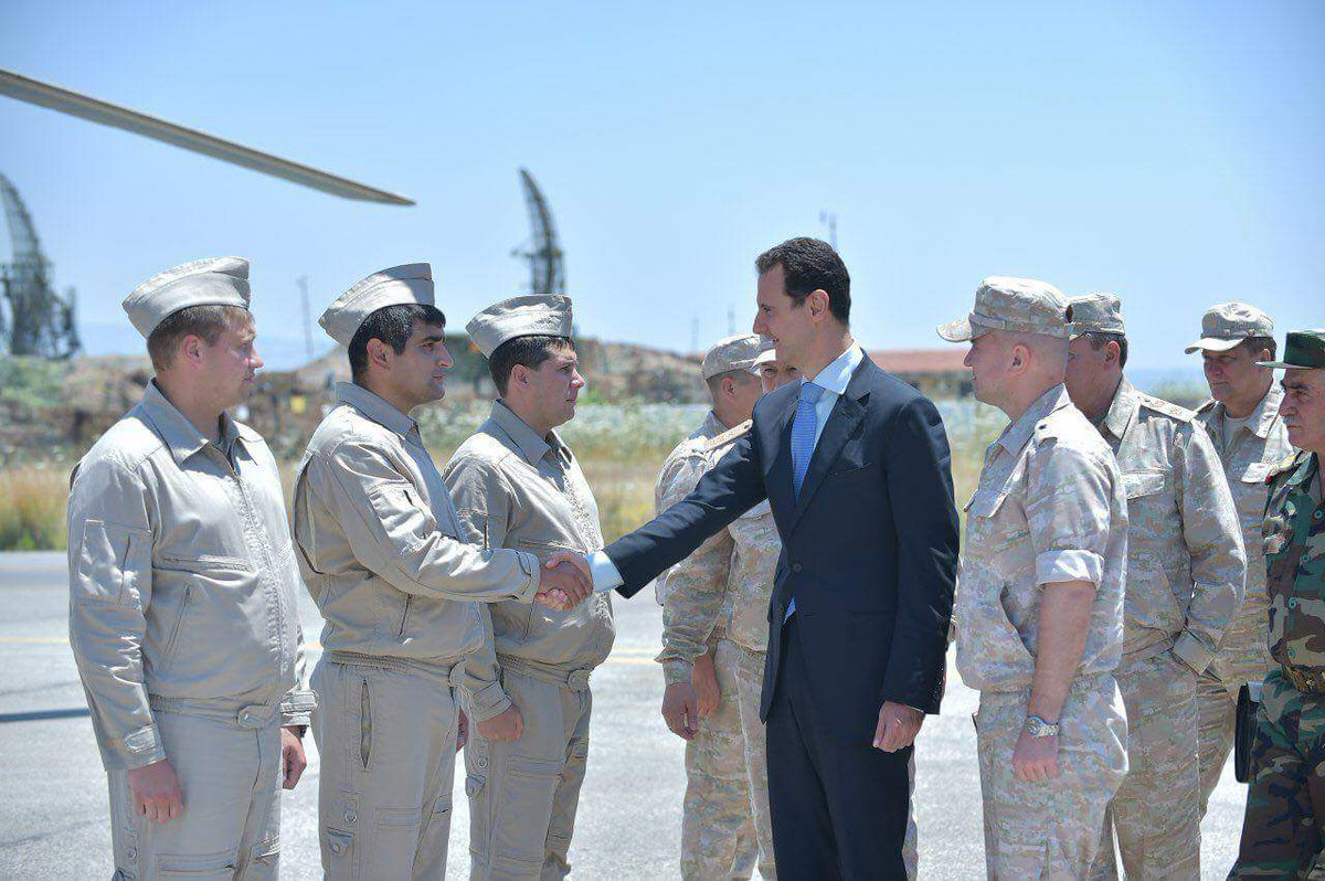 Ξεδιπλώνεται εφιαλτικό σενάριο στη Συρία: Οι ΗΠΑ ετοιμάζονται να κτυπήσουν με κρουζ και το Ισραήλ να εισβάλλει – Στην βάση Hmeymim, Μ.Ασαντ και Ρώσος Α/ΓΕΕΘΑ υποδέχτηκαν τον «Εξολοθρευτή» - Εικόνα20