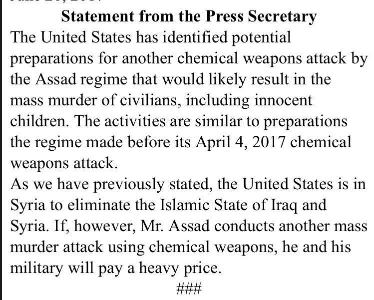 Ξεδιπλώνεται εφιαλτικό σενάριο στη Συρία: Οι ΗΠΑ ετοιμάζονται να κτυπήσουν με κρουζ και το Ισραήλ να εισβάλλει – Στην βάση Hmeymim, Μ.Ασαντ και Ρώσος Α/ΓΕΕΘΑ υποδέχτηκαν τον «Εξολοθρευτή» - Εικόνα26