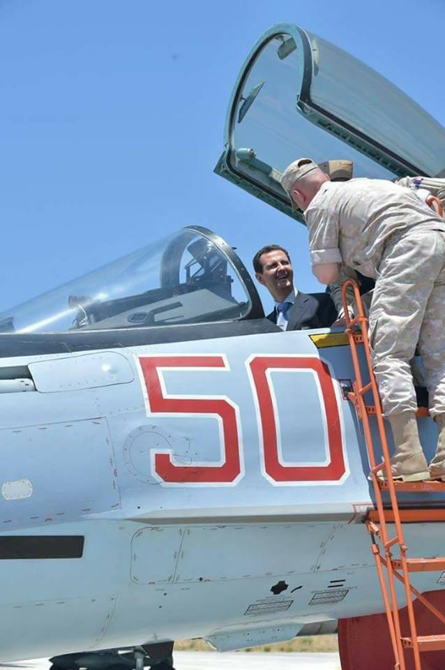 Ξεδιπλώνεται εφιαλτικό σενάριο στη Συρία: Οι ΗΠΑ ετοιμάζονται να κτυπήσουν με κρουζ και το Ισραήλ να εισβάλλει – Στην βάση Hmeymim, Μ.Ασαντ και Ρώσος Α/ΓΕΕΘΑ υποδέχτηκαν τον «Εξολοθρευτή» - Εικόνα3