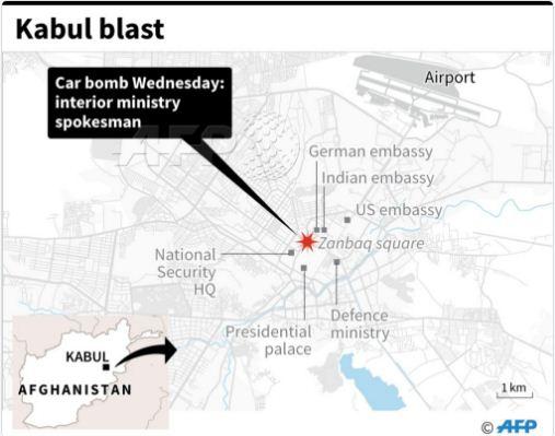 Μακελειό στην Καμπούλ: 80 νεκροί και 350 τραυματίες από έκρηξη παγιδευμένου οχήματος - Εικόνα 11
