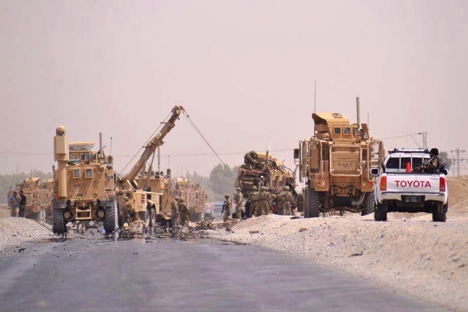 Μακελειό σε στρατιωτική φάλαγγα του ΝΑΤΟ: Τους ανατίναξαν οι Ταλιμπάν – Τουλάχιστον 16 ΝΑΤΟϊκοί νεκροί – ΗΠΑ: «Η Ρωσία τους εξοπλίζει» (βίντεο) - Εικόνα2