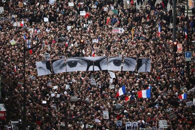 Για την μεγαλειώδη αντι-ισλαμική συγκέντρωση στη Γαλλία ακούσατε σε κανένα βοθροκάναλο; - Εικόνα2