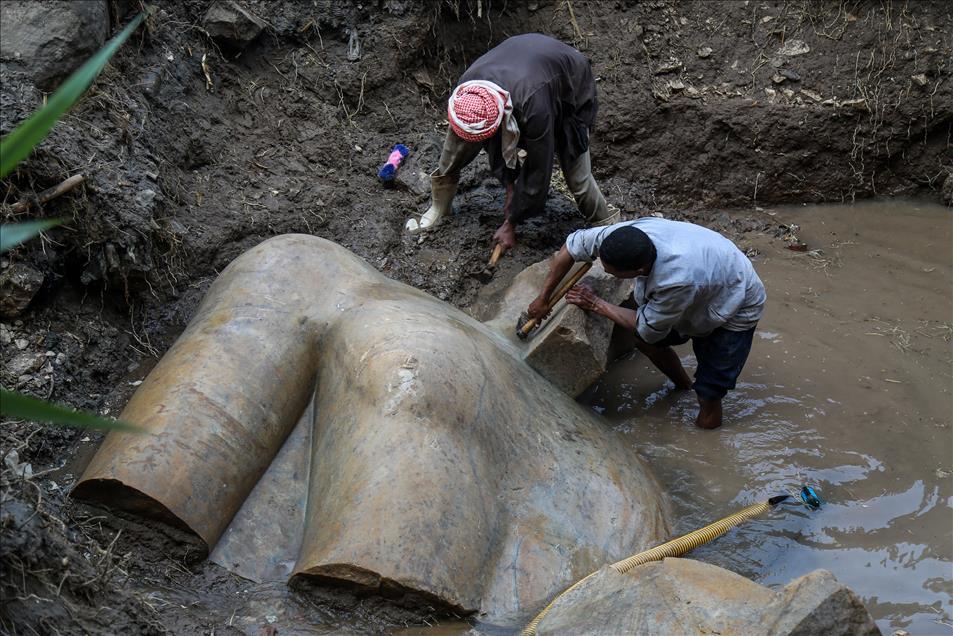 Μεγάλη ανακάλυψη: Στο «φως» κολοσσιαίο άγαλμα του Φαραώ Ραμσή Β' του Μέγα - Εικόνα 15
