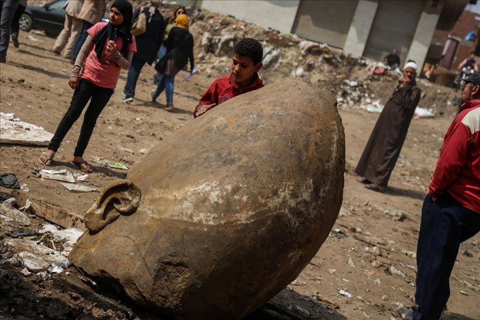 Μεγάλη ανακάλυψη: Στο «φως» κολοσσιαίο άγαλμα του Φαραώ Ραμσή Β' του Μέγα - Εικόνα 16