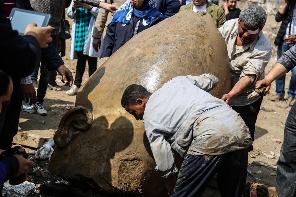 Μεγάλη ανακάλυψη: Στο «φως» κολοσσιαίο άγαλμα του Φαραώ Ραμσή Β' του Μέγα - Εικόνα 2