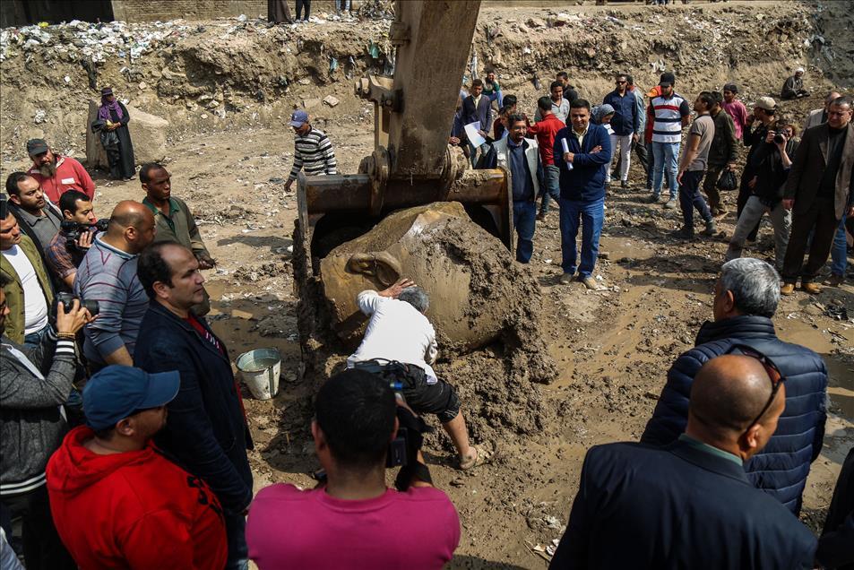 Μεγάλη ανακάλυψη: Στο «φως» κολοσσιαίο άγαλμα του Φαραώ Ραμσή Β' του Μέγα - Εικόνα 4