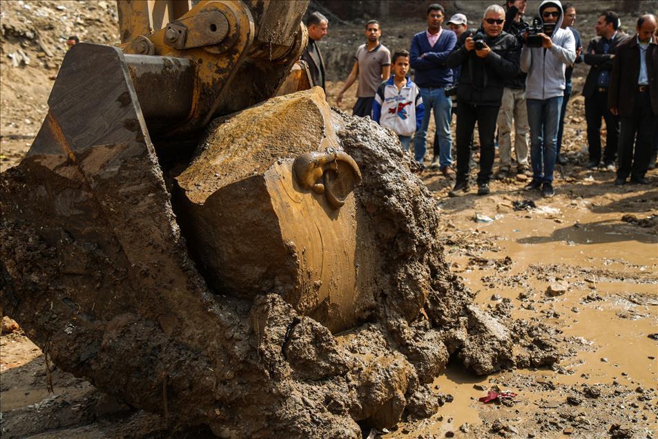Μεγάλη ανακάλυψη: Στο «φως» κολοσσιαίο άγαλμα του Φαραώ Ραμσή Β' του Μέγα - Εικόνα 5