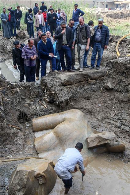 Μεγάλη ανακάλυψη: Στο «φως» κολοσσιαίο άγαλμα του Φαραώ Ραμσή Β' του Μέγα - Εικόνα 8