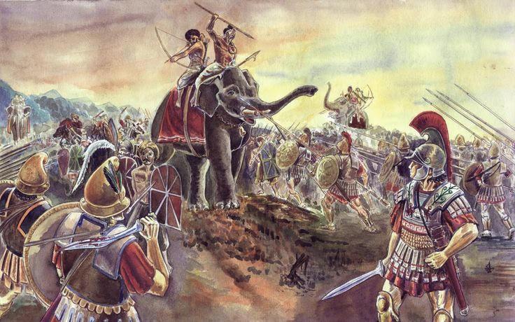 Μέγας Αλέξανδρος: Η μάχη του ποταμού Υδάσπη (326 π.Χ.) - Εικόνα 5