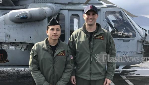 ΜΕΣΑ ΣΤΟ… ΘΗΡΙΟ: Το αεροπλανοφόρο USS George Bush στην Κρήτη και οι Έλληνες του (Εντυπωσιακές εικόνες και βίντεο) - Εικόνα7