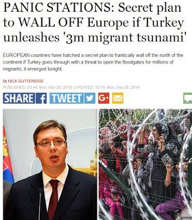 Μυστικό σχέδιο της Ευρώπης αναγκάζει τη Σερβία να δημιουργήσει επειγόντως φράχτες - Εικόνα1