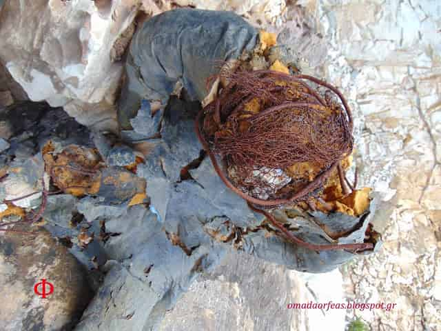 Η Μυστηριώδης «Πανοπλία» που Βρέθηκε σε Λατομείο της Πεντέλης (εικόνες) - Εικόνα3