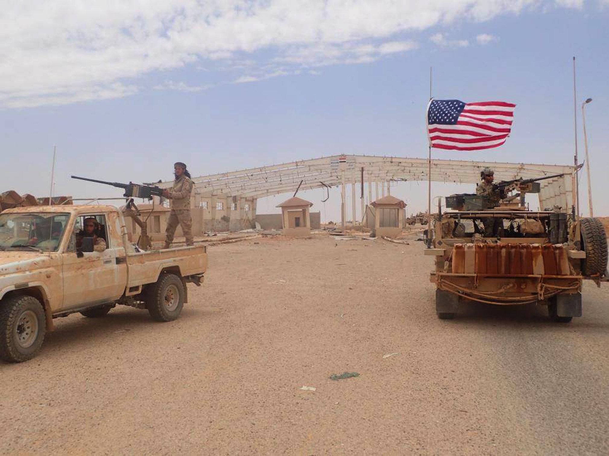 Η Μόσχα εγείρει ερωτήσεις σχετικά με την επίθεση των ΗΠΑ κατά των δυνάμεων της Δαμασκού στη Συρία. - Εικόνα1