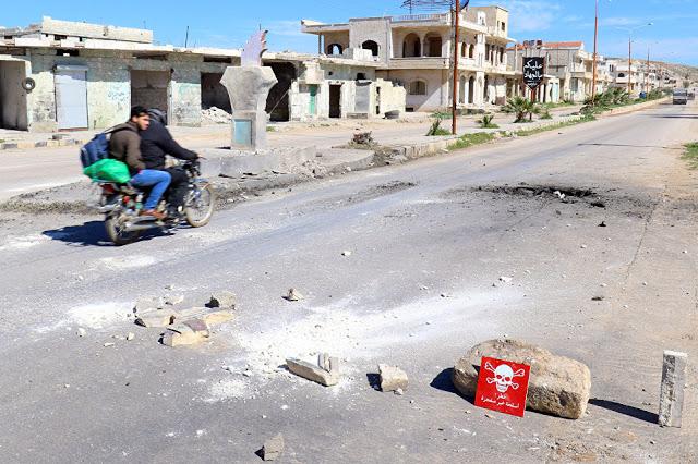 Nation: Τα μέσα μαζικής ενημέρωσης είναι σιωπηλά  σχετικά με τις ανακολουθίες στην χημική επίθεση στην ιστορία που έγινε στην Συρία - Εικόνα1