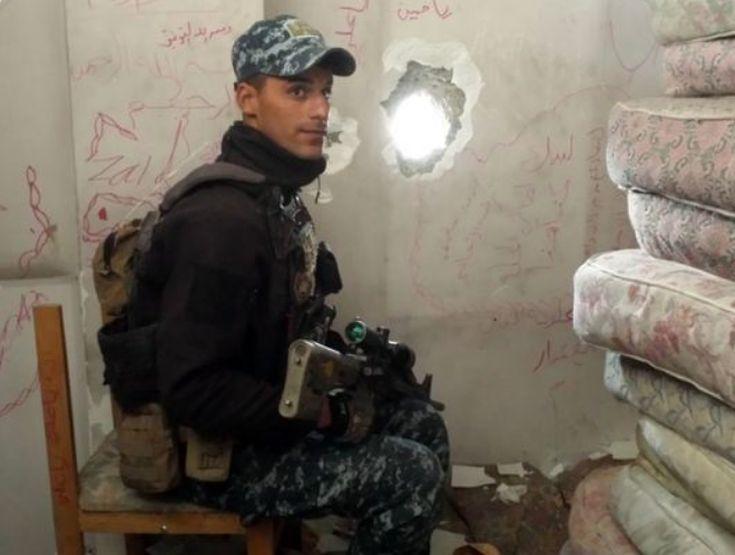 Ο νεαρός που ζει το όνειρό του, εξουδετερώνοντας μαχητές του ISIS - Εικόνα
