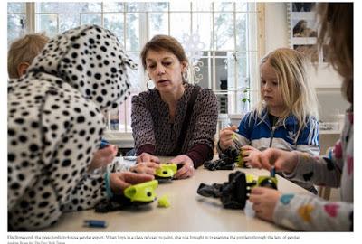 Νηπιαγωγεία «ουδέτερα φύλου» στην Σουηδία διδάσκουν τα αγόρια να φοράνε φουστάνια. Ποιο σκοτεινό σχέδιο κρύβεται πίσω από την προσπάθεια κατάργησης των φύλων; - Εικόνα3