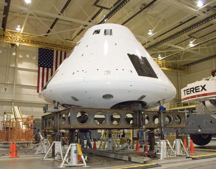 «Ωρίων»: Αυτό είναι το νέο υπερδιαστημόπλοιο της NASA -Θα μεταφέρει ανθρώπους στη Σελήνη και τον Άρη (εικόνες) - Εικόνα0