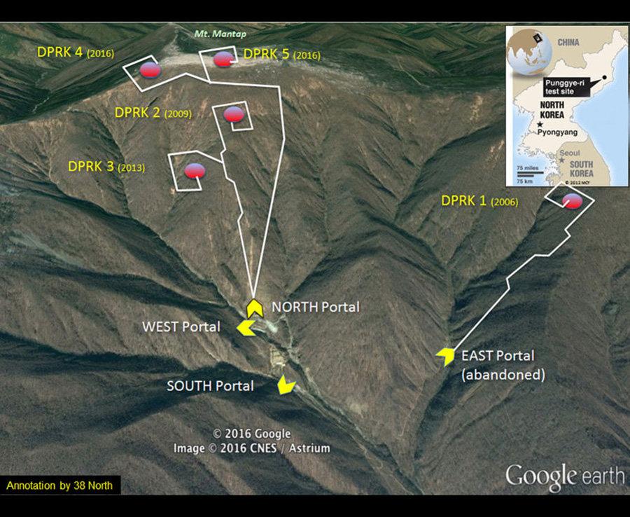 Παγκόσμια ανησυχία: Η Β.Κορέα απείλησε πριν λίγο να βυθίσει την Αμερικανική αρμάδα αν πλησιάσει και άλλο – Θέμα ωρών η νέα πυρηνική δοκιμή – Σε ετοιμότητα τέθηκαν τα βομβαρδιστικά Β-2 Spirit των ΗΠΑ – Τρόμος σε Ν.Κορέα-Αυστραλία-Ιαπωνία - Εικόνα1