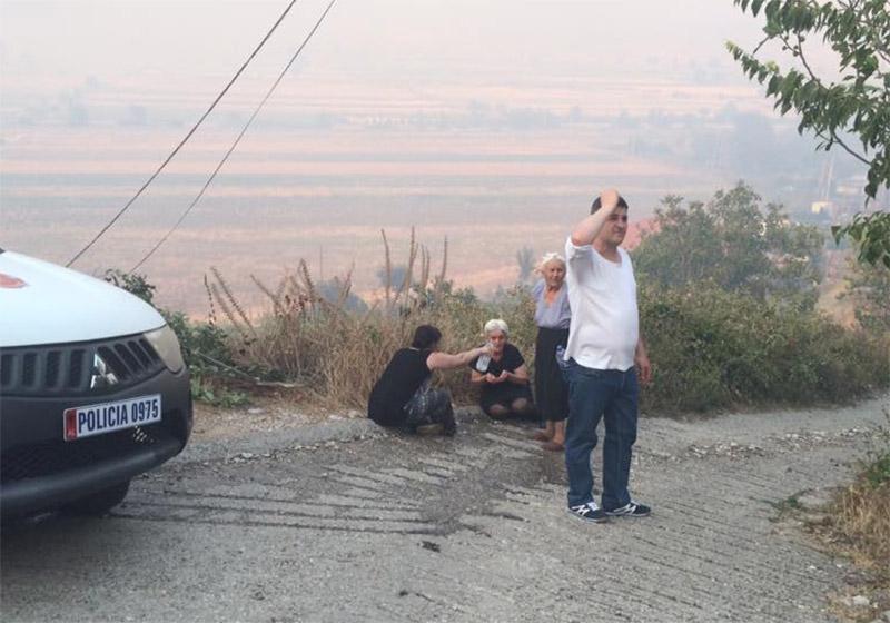 Πέρασαν στην Ελλάδα οι φωτιές από την Αλβανία - Εικόνα 1