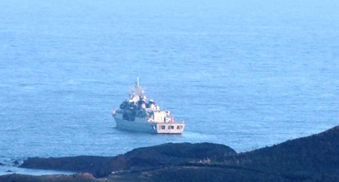 Περικύκλωσαν τα Ίμια οι Τούρκοι λόγω της επίσκεψης Τσίπρα – Ελληνικό πολεμικό ναυτικό: «Εγκαταλείψτε τα χωρικά μας ύδατα» - Εικόνα1