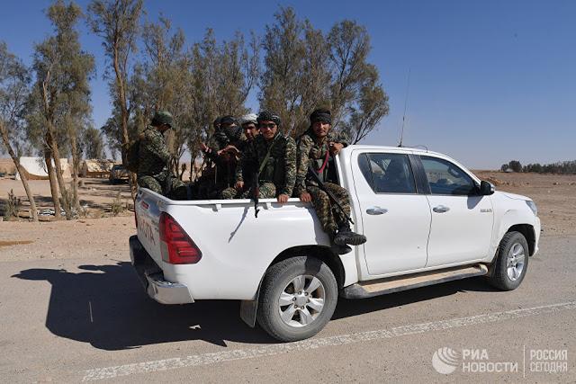 Ποιος θα μειώσει την αλαζονεία του συνασπισμού με επικεφαλής τις ΗΠΑ στη Συρία - Εικόνα1