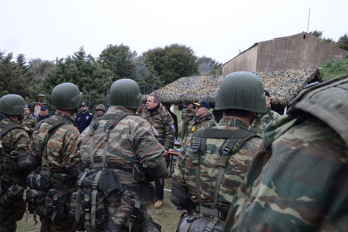 Σε πολεμική ετοιμότητα τέθηκαν και οι εθνοφύλακες για εξάλειψη αεροπρογεφυρώματος: Mπαράζ τουρκικών επιθετικών ενεργειών από Θάσο-Καστελόριζο μέχρι Κύπρο – Πολεμική ομιλία Π.Καμμένου – Τι είπε (βίντεο) - Εικόνα9