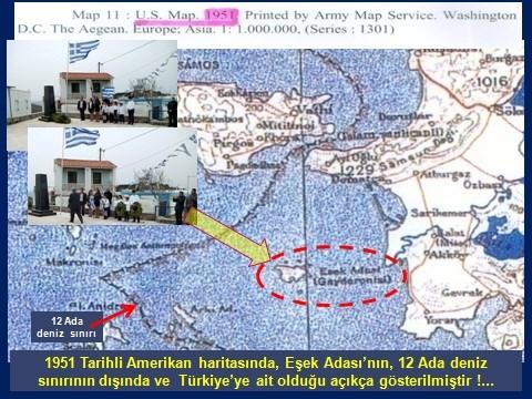 Νέα πρόκληση από τουρκική εφημερίδα- «Η ελληνική σημαία κυματίζει στο τουρκικό έδαφος» ο τίτλος άρθρου για το Αγαθονήσι - Εικόνα1