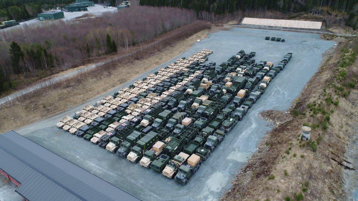 Προσομοίωση παγκόσμιου πλήγματος με διασύνδεση των ΝΑΤΟϊκών βάσεων σε Γερμανία-ΗΠΑ-Βρετανία – Τεράστιες ποσότητες οπλισμού μεταφέρονται σε γερμανικό έδαφος – Ανοιξαν οι αποθήκες όπλων μέχρι και στη Νορβηγία (βίντεο, εικόνες) - Εικόνα1