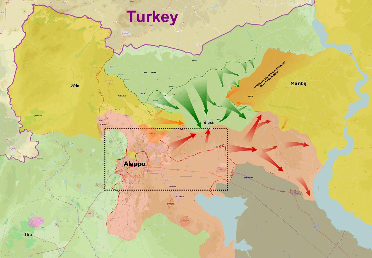 Εις προσοχή όλων και κυρίως της Ρωσίας και των ΗΠΑ - Οι Τούρκοι προετοιμάζουν επίθεση στο Καντόνι του Αφρίν - Εικόνα2