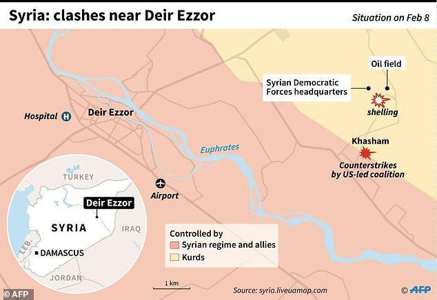 Προσοχή σκληρές εικόνες: Η Αμερικανική επίθεση – σφαγή σε ρωσικό κονβόι – «Τα έκανε πάνω της» η Τουρκία – Tρομαχτική επίδειξη ισχύος - Εικόνα2