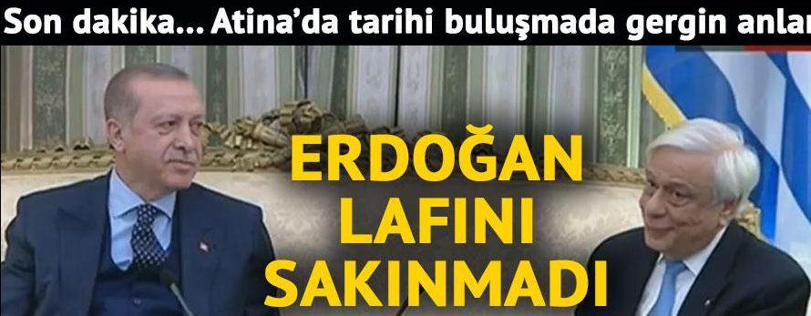 Πρώτο θέμα σε όλα τα τουρκικά ΜΜΕ η πρόκληση Ερντογάν - Εικόνα 1