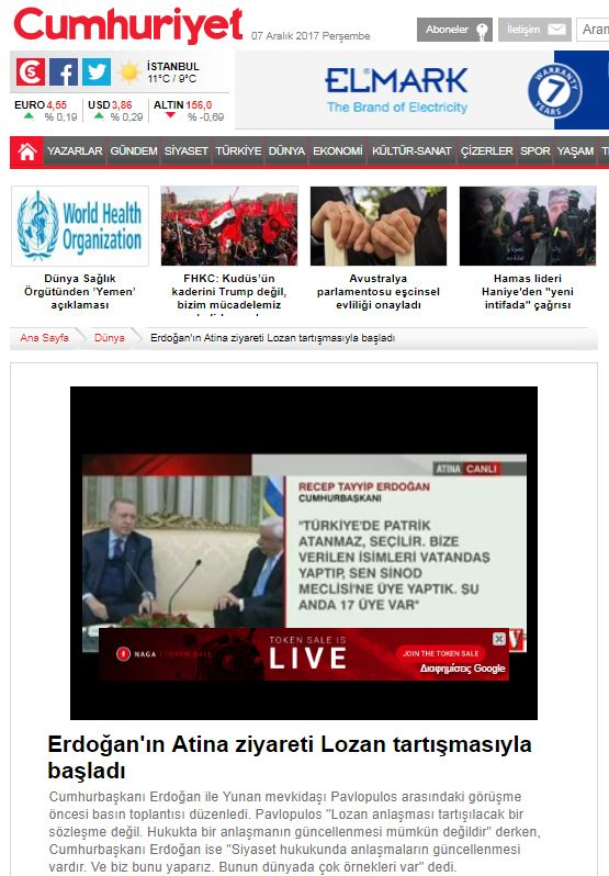 Πρώτο θέμα σε όλα τα τουρκικά ΜΜΕ η πρόκληση Ερντογάν - Εικόνα 2
