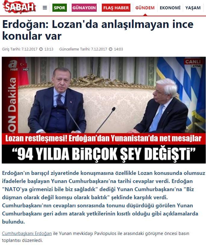 Πρώτο θέμα σε όλα τα τουρκικά ΜΜΕ η πρόκληση Ερντογάν - Εικόνα 3