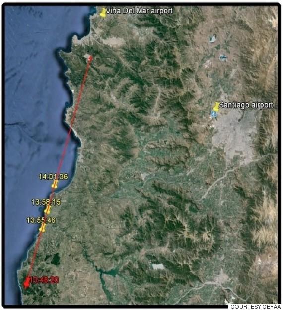 Πρωτοφανές UFO δημοσιοποίησε το Π.Ν. της Χιλής (video) - Εικόνα1