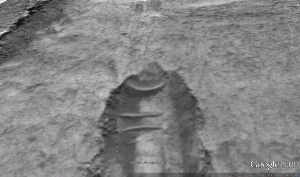 Πτώση αγνώστου αντικειμένου στον πλανήτη Άρη από τους χάρτες του Google Earth [Βίντεο] - Εικόνα0