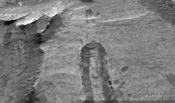 Πτώση αγνώστου αντικειμένου στον πλανήτη Άρη από τους χάρτες του Google Earth [Βίντεο] - Εικόνα1