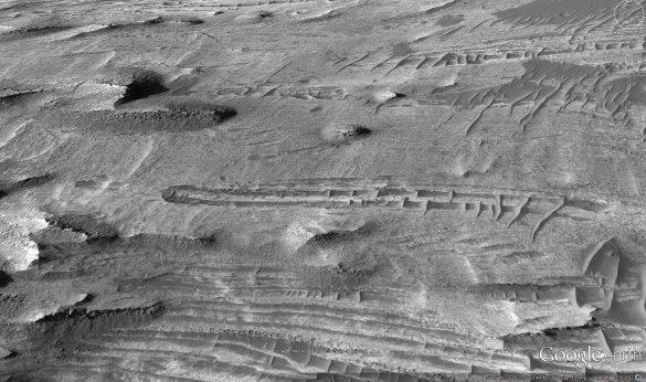 Πτώση αγνώστου αντικειμένου στον πλανήτη Άρη από τους χάρτες του Google Earth [Βίντεο] - Εικόνα5