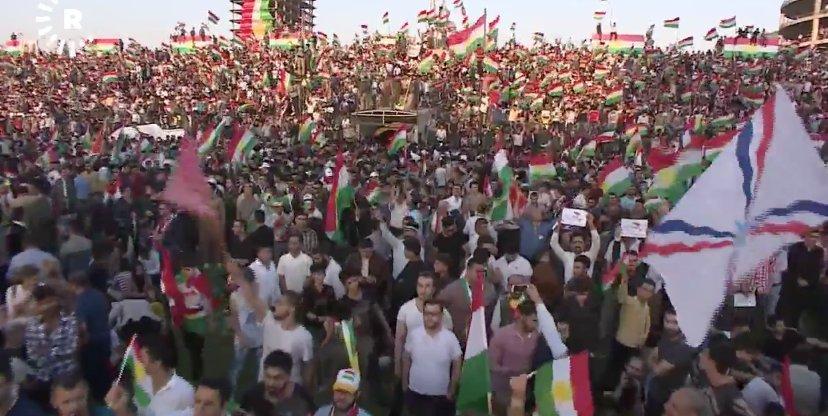Ραγδαίες εξελίξεις: Η Τουρκία επικαλέστηκε τη Συνθήκη της Λωζάνης και ψήφισε εισβολή στο Ιρακινό Κουρδιστάν – Οι ΗΠΑ αναπτύσσουν δυνάμεις στο Κιρκούκ και χιλιάδες Κούρδοι πανηγυρίζουν - Εικόνα3